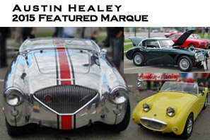 Austin Healey 2015 Featured Marque of Grand Prix Festival of Watkins Glen